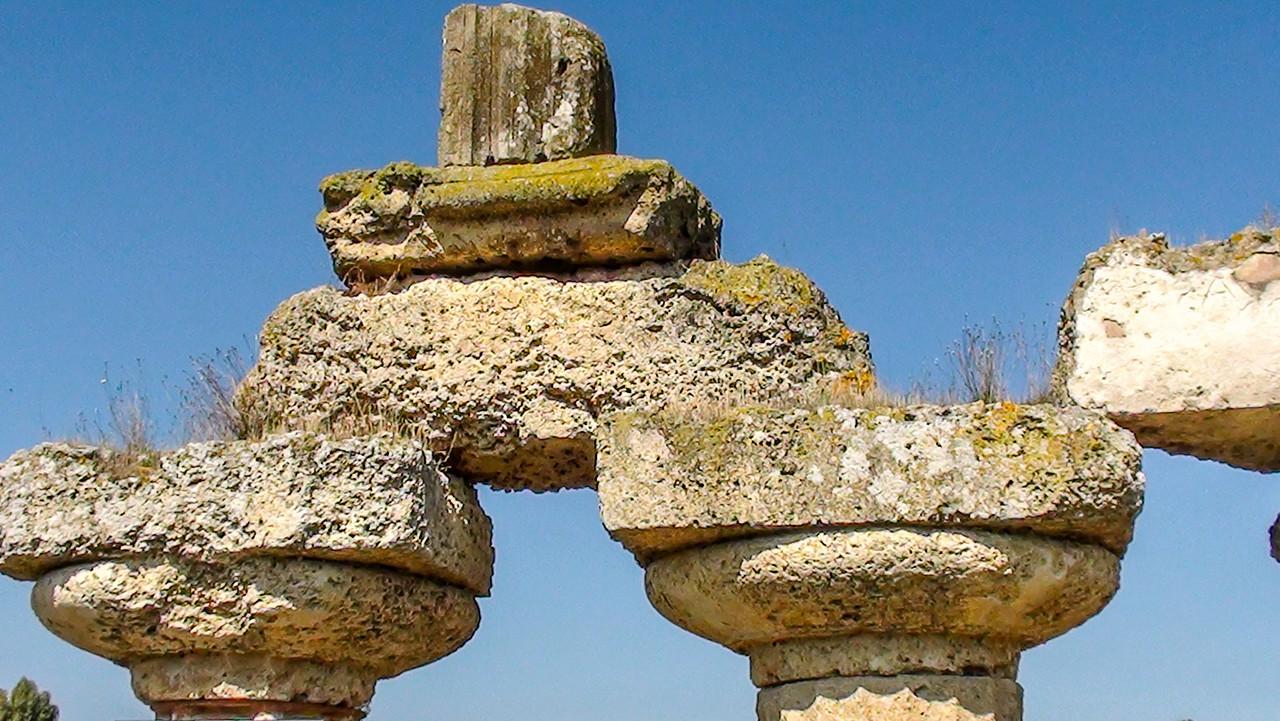 Greek ruins Metaponto