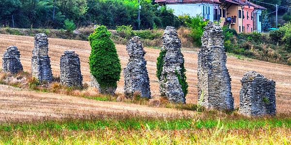 Remains of Aqueducts
