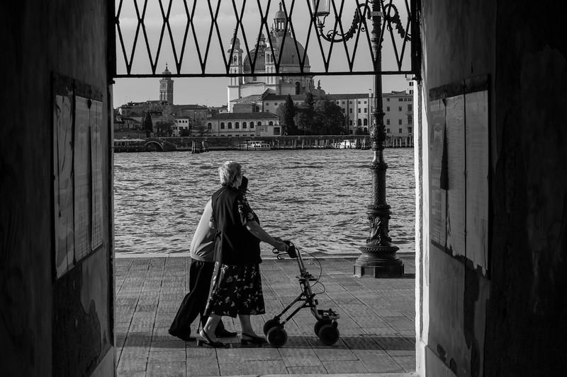Evening stroll in Venice