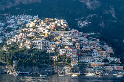 The Town of Positano