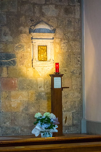 small church, Monteriggioni, IT