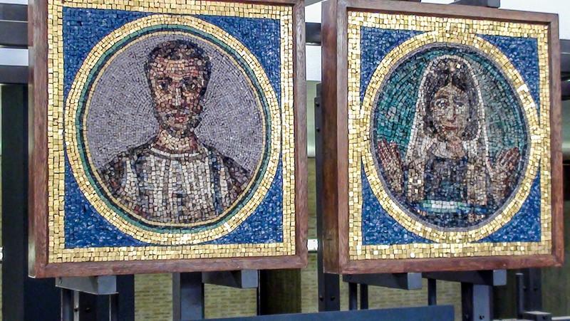 Vatican Museum mosaics.