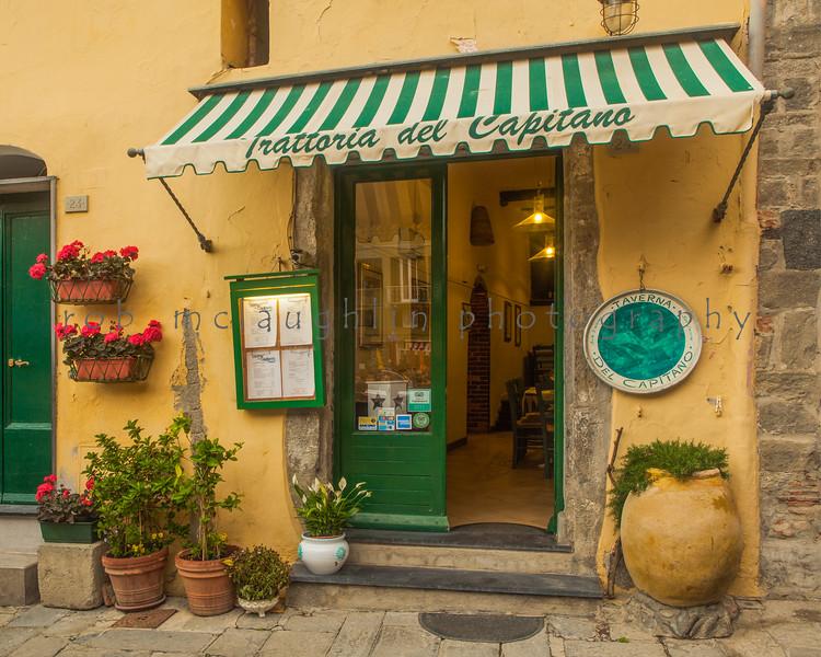 Trattoria del Capitano, Vernazza, Cinque Terre, Liguria