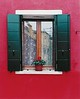 """Red Burano Window"""