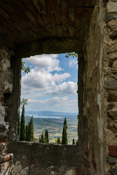 Fortress View of Tuscany