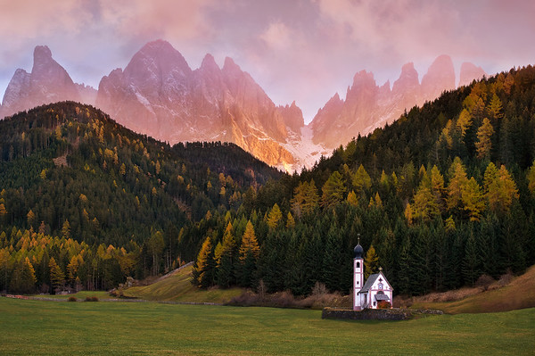 Dolomites sunset classic !