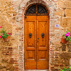 Narrow Door 24, Montisi, Tuscany