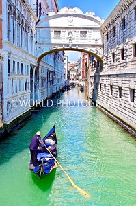"I didn't realize this was the famous Bridge of Sighs when I took this photo!    ""The Bridge of Sighs, one of the most famous bridges in the world, connected the halls of the courts of the Doges (Dukes) Palace and the Venice prison. Built in between the 16th and 17th century.""  http://www.bridgeofsighs.info/"