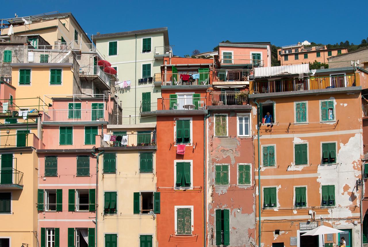 Colourful House Fronts, Riomaggiore