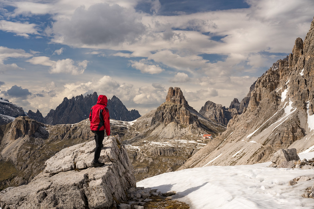 Views over the Snowy Dolomites
