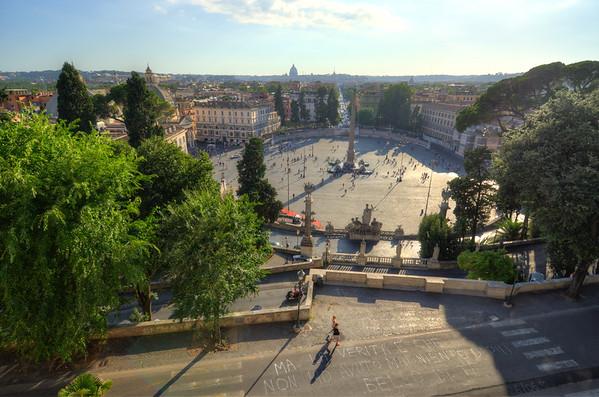 Piazza del Popolo - Rome Italy