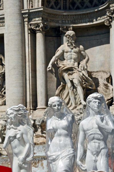 Trevi Fountain<br /> Rome<br /> Trevi