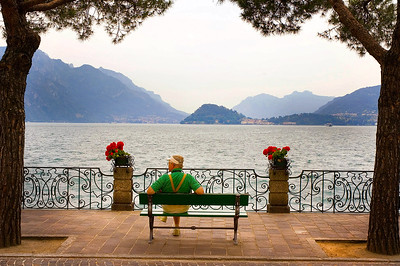Richards__Chuck on Lake Como across from lBellagio