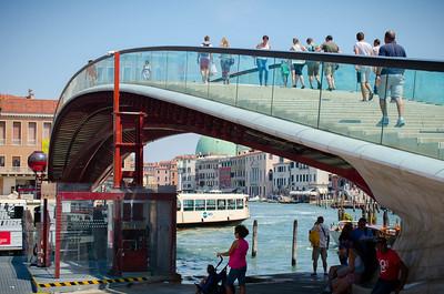 Venice Under A Bridge