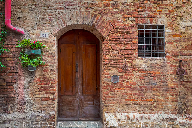 Doors of Italy 1-Tuscany