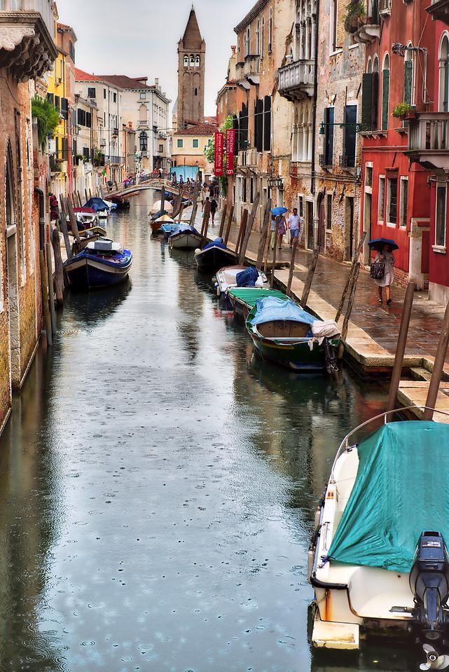 Rainy Canal