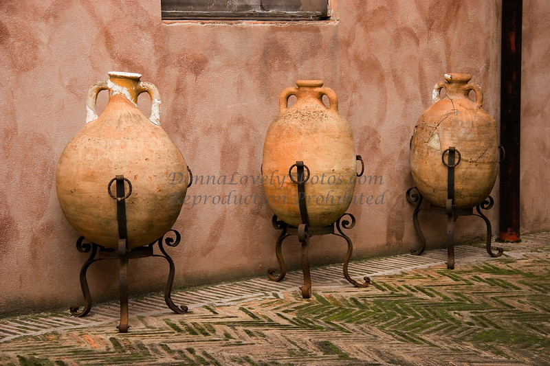Roman Urns, Castel Sant Angelo, Italy