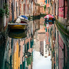 Reflections on the canals of Venice.