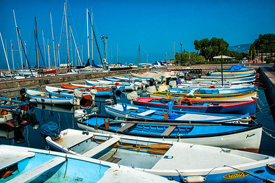 Richards__Boats on Lake Garda