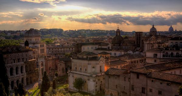 Rome in the Sun