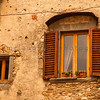 Old Pair of Windows, Tuscany