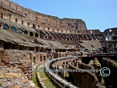 """ Inside the Colosseum """