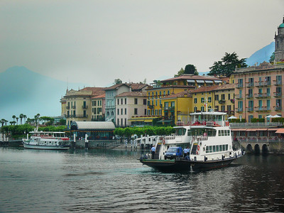 Kemmerer__Bellagio Waterfront on a Misty Day