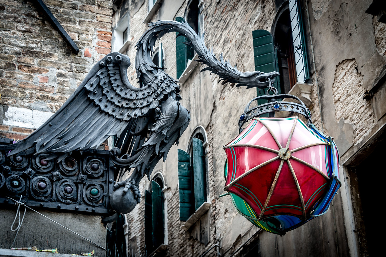 Dragon in Venice.