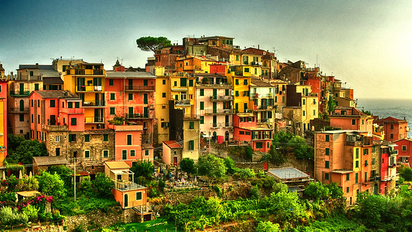 Colorful Town in Cinque Terre