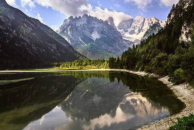 Richards_Lago di Lando in the Dolomites