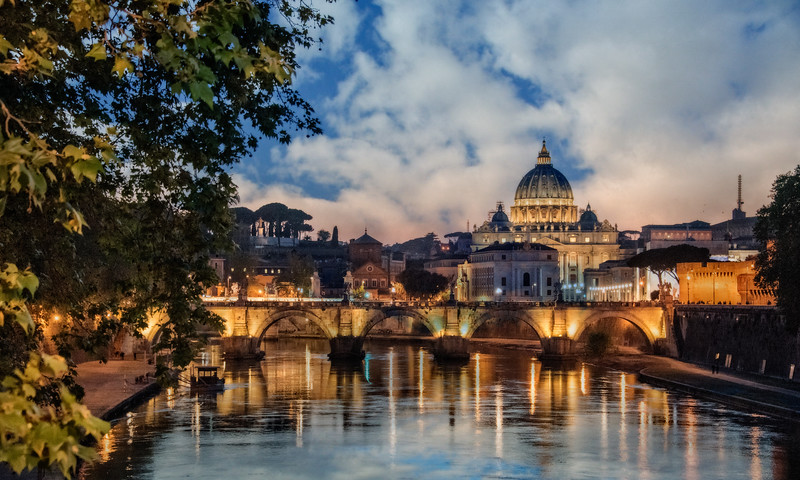 Ponte Sant Angelo & Basilica