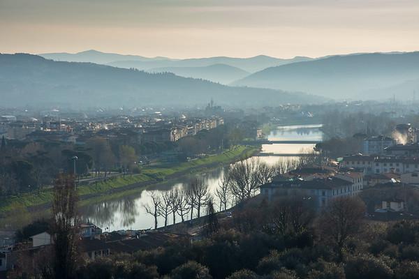 Florence sunrise