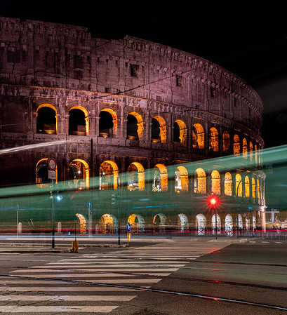 Streaks at the Colosseum