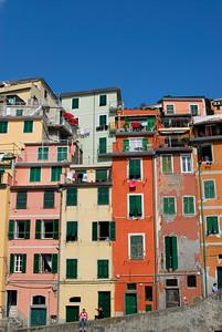 Colourful Houses, Riomaggiore
