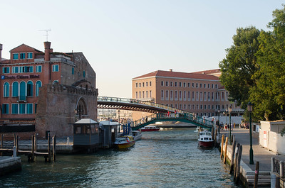 Venice Canal To Bridge