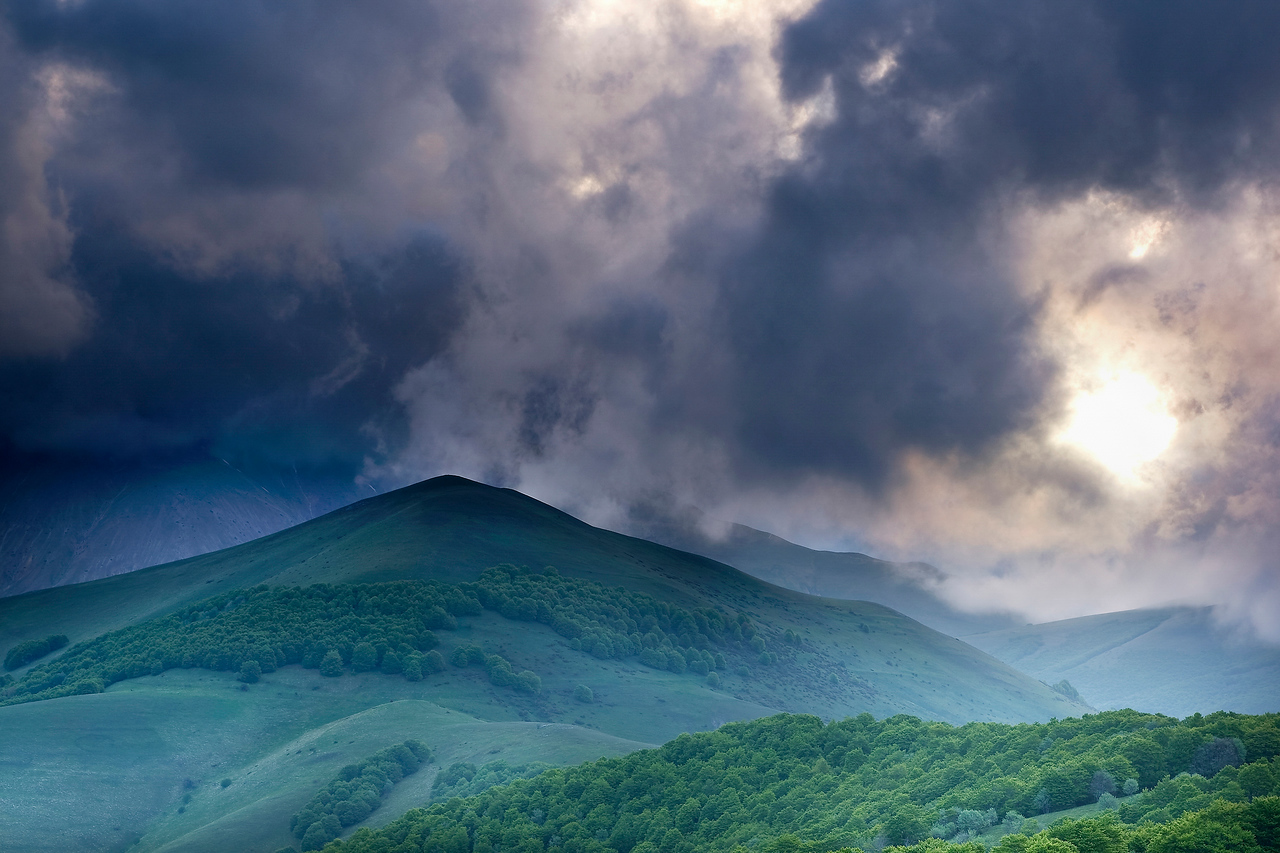 Piano Grande in Umbria Before The Storm