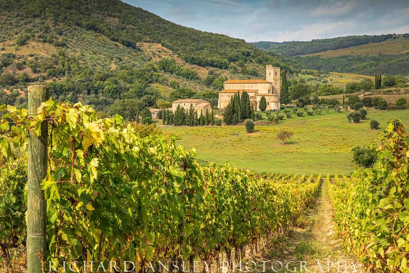 Abbey of Sant'Antimo,-Tuscany, Italy