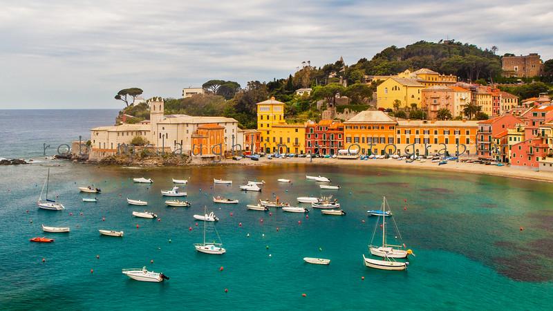 Baia del Silenzio (the Bay of Silence), Sestri Levante, Italian Riviera, Liguria