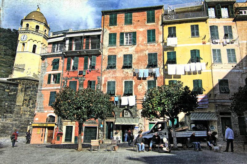 Laundry Vernazza, Cinque Terre