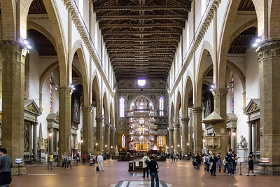 Santa Croce Church, Florence, IT