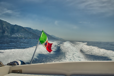 Boating Amalfi Coast