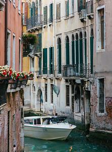 Narrow Venice Canal
