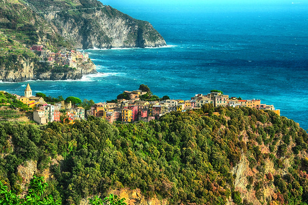 Two towns in Cinque Terre