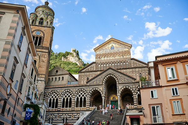 Cathedral of Saint Andrew the Apostle, Amalfi, Italy.