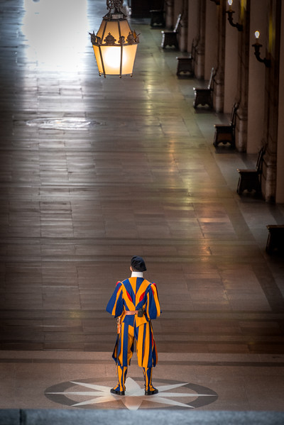 Swiss Guard, St. Peter's Basilica, Vatican City