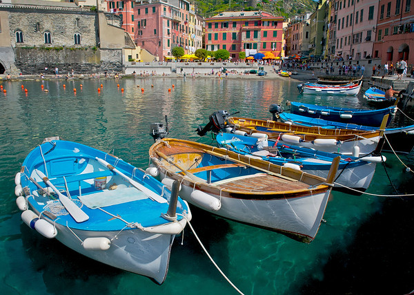 Boats in Vernazza