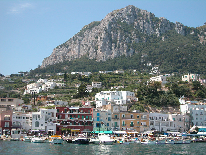 Isle of Capri. Italy.