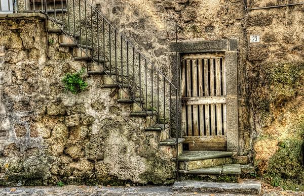 Door and Stair