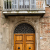 Italian door and balcony