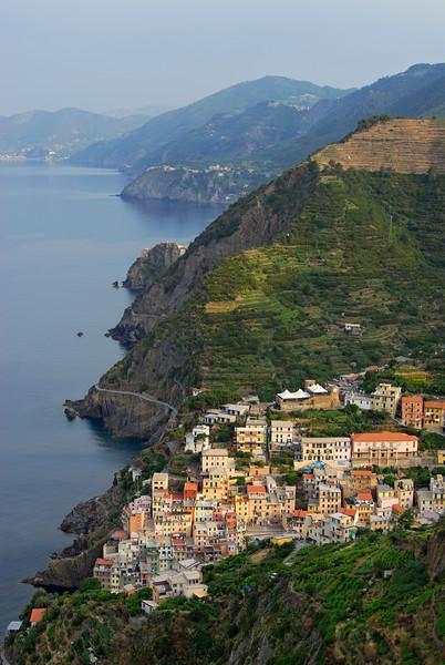 Riomaggiore and Cinque Terre National Park